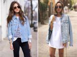 Sokak Modası: Kot Ceket