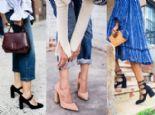 Blok Topuklu Ayakkabılar Nasıl Kombinlenir?