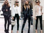 Tekrar Moda Olan Siyah Jean'lerle Ne Giymelisiniz?