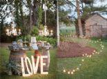 Arka Bahçe Düğünleri için 10 Dekorasyon Önerisi