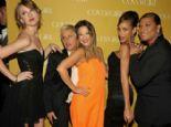 Drew Barrymore'un garip elbisesi