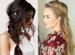 Sezonun Trend Saçı: Yarım Toplanan Örgü Saçlar...