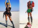 2017 Burning Man Festivali'ne Damga Vuran Stiller