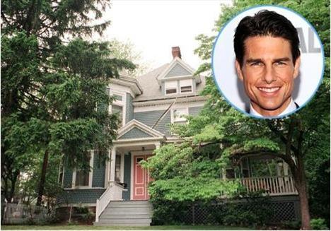 15 yaşına gelinceye kadar 14 ayrı okul ve elbette 14 ayrı mekan değiştiren Tom Cruise sonunda ailesiyle birlikte bu eve yerleşti.