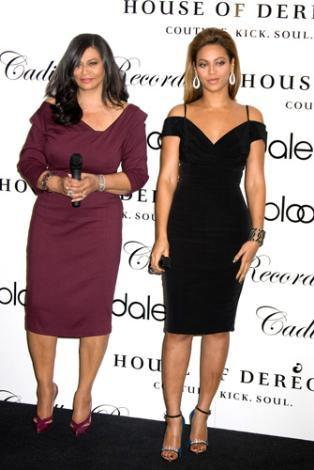 Beyonce Knowles ve annesi Rita.