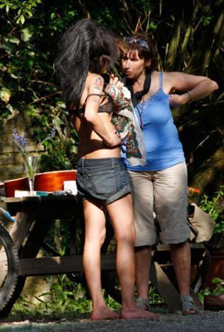 Amy Winehouse ve annesi Janis