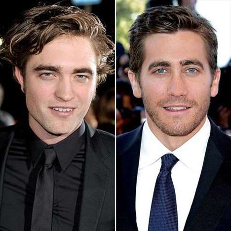 En güzel çene!Robert Pattinson - Jake Gyllenhaal