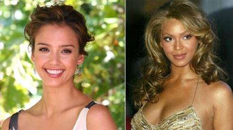 En güzel yüz!Jessica Alba - Beyonce  Jessica Alba  Beyonce