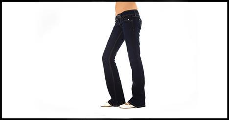 İspanyol paça 'jean', kısa bacaklı veya uzun gövdeli kadınlarda vücudu orantısız gösterebilir. Bu paça modeli en çok uzun boylu veya bacaklı kadınlara yakışır. Topuklu ayakkabıyla kullanıldığında oldukça şık durur.