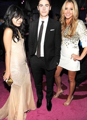 Amanda Bynes, Vanessa Hudgens ve Zac Efron.