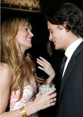 Molly Sims - Orlando Bloom