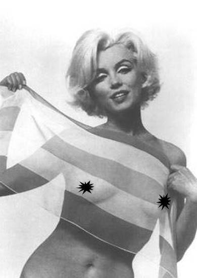 Monroe'nun bu pozundan esinlenen Madonna objektif karşısına bakın nasıl geçti.