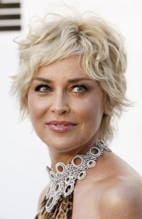 Sharon Stone:  50 yaşında