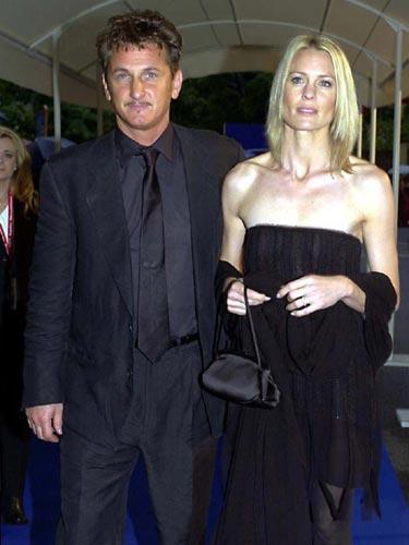 Sean Penn & Robin Wright Penn: 18 YIL