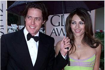 Liz Hurley ve Hugh Grant