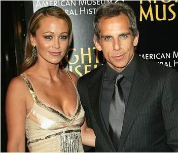 Ben Stiller ve Christine Taylor