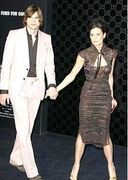 Ashton Kutcher ve Demi Moore