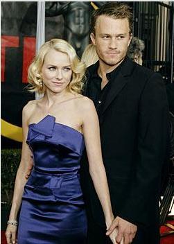 Naomi Watts ve Heath Ledger