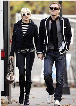 Sienna Miller ve Jude Law