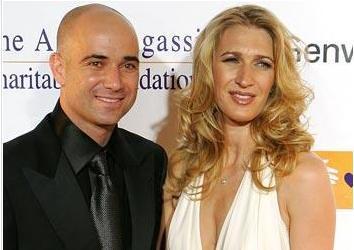 Andre Agassi ve Steffi Graf