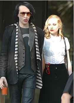 Marilyn Manson ve Evan Rachel Wood