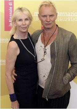 Sting ve Trudie Styler