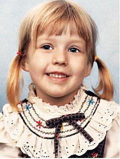 Christina Aguilera 1985'te minik bir kızdı.