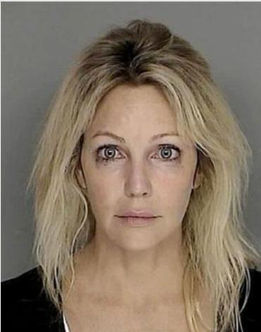 Heather Locklear'ın başı da alkol bağımlılığı yüzünden derde girdi.