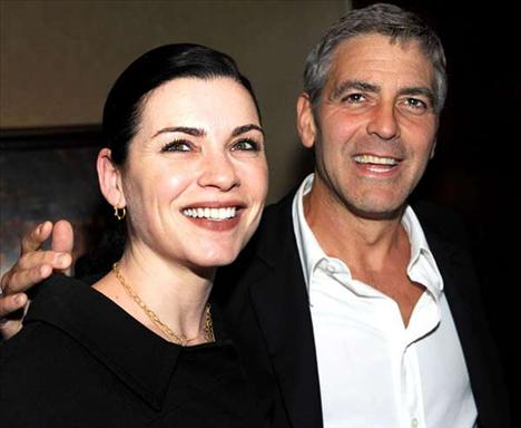 George Clooney - Julianna Margulies'in şimdiki hali
