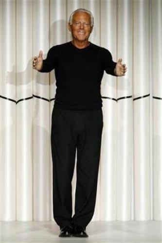 Italian modacı Giorgio Armani