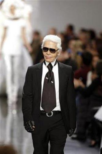 Alman modacı Karl Lagerfeld