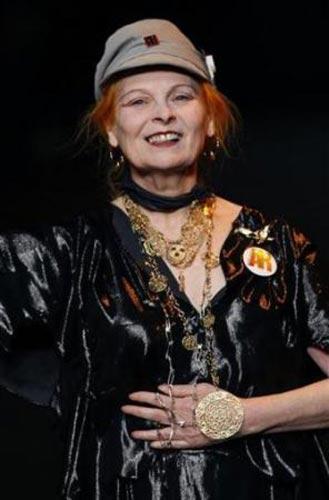 İngiliz tasarımcı Vivienne Westwood