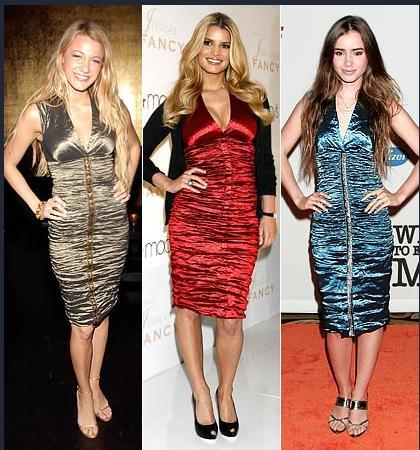 Blake Lively - Jessica Simpson - Lily Collins