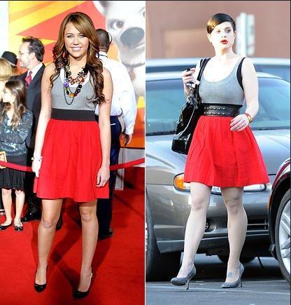 Miley Cyrus - Kelly Osbourne