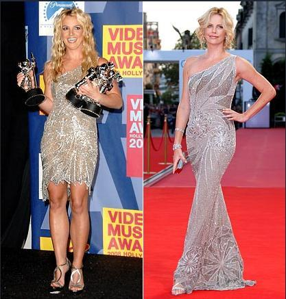 Britney Spears - Charlize Theron