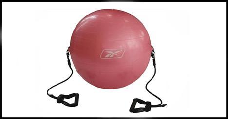 Reebok W767 Pilates Topu  Oturup kalkma hareketlerinin yanı sıra bel egzersizlerin yapılabileceği; ayrıca genel antrenmanlarda kullanılan son 30 yılın egzersiz aracı pilates topu, Reebok kalitesi ile evinize geliyor.   Fiyatı:  39.00 YTL