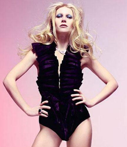 Gwyneth Paltrow da iki çocuk annesi.