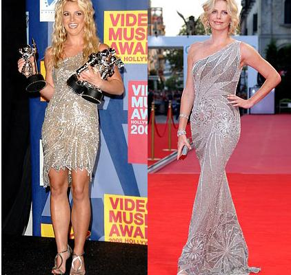 Britney Spears&Charlize Theron