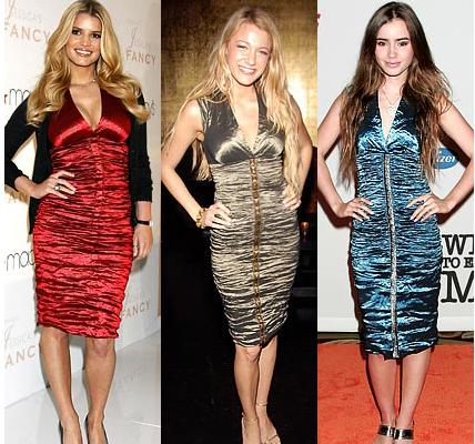Jessica Simpson&Blake Lively&Lily Collins