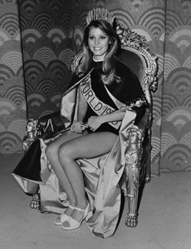 1973 Dünya güzeli Marjorie Wallace, yaşadığı şöhretli aşklar nedeniyle çok fazla eleştirilmişti