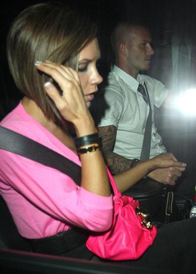 Victoria- David Beckham :  Birlik gösterisi