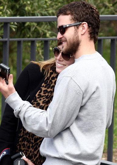 Justin Timberlake -Jessica Biel:  Kendilerine hayranlar
