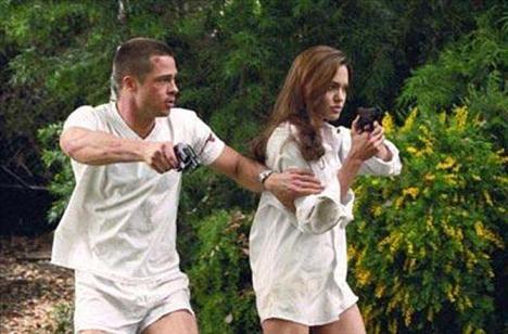 Angelina ikizleriyle! - 1