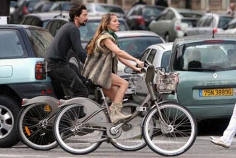Ünlüler bisiklet turunda - 13