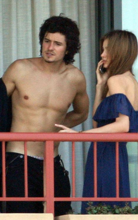 Orlando Bloom ve Miranda  Kerr