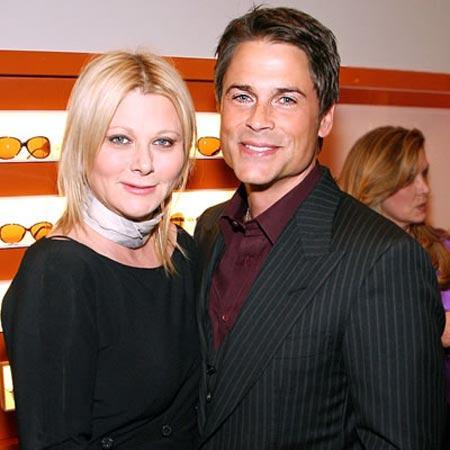 Rob Lowe ve karısı