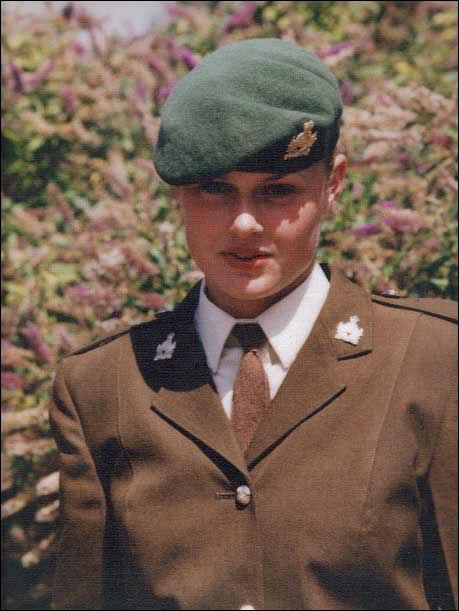 Askerlik yıllarından bir fotoğraf...