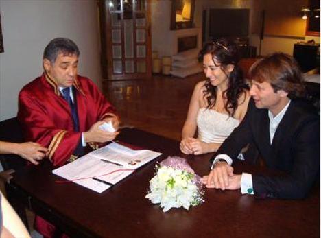Kaya-Feraye nikahından ilk fotoğraflar! - 2