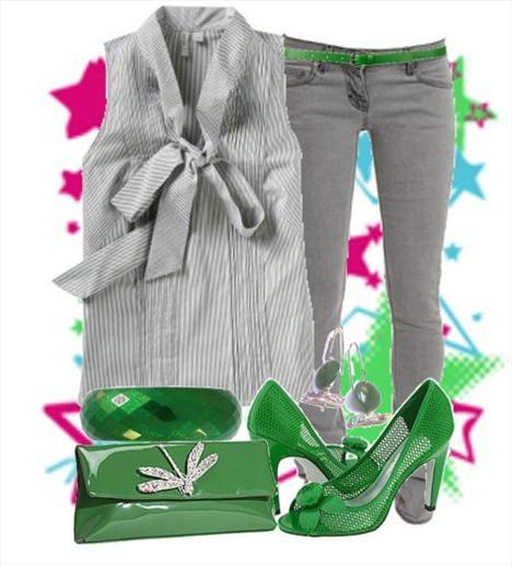 Baharda yeşilden daha iyi hangi renk düşünülebilir ki!