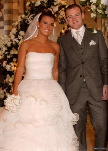 Wayne Rooney'nin düğün fotoğrafı 2,5 milyon euro